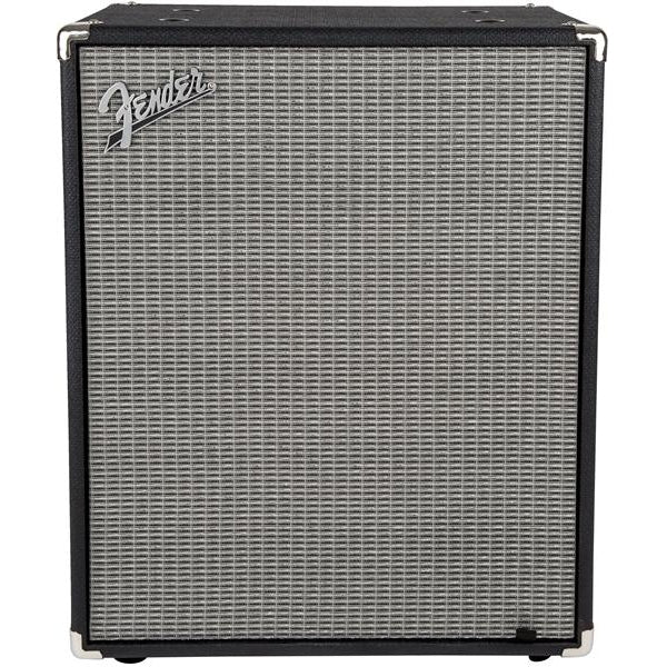 Fender Rumble 210 Cabinet Black and Silver Amplifier, Fender, haworth-music