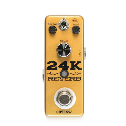 Outlaw Effects 24K REVERB, Outlaw Effects, Haworth Music