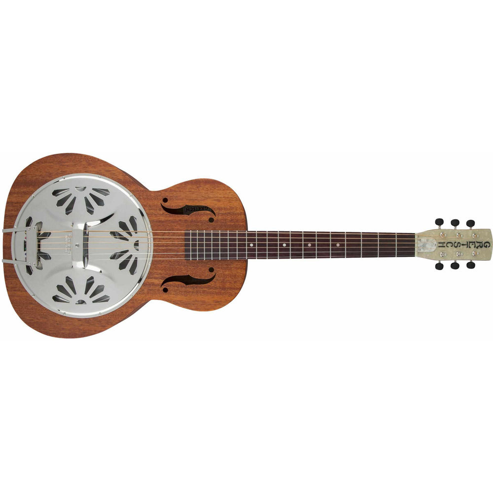 G9200 Boxcar Round-Neck, Mahogany Body Resonator Guitar, Gretsch, Haworth Music