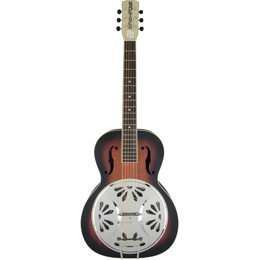 GRETSCH G9220 Bobtail Round-Neck AE RESONATOR GUITAR, Gretsch, haworth-music