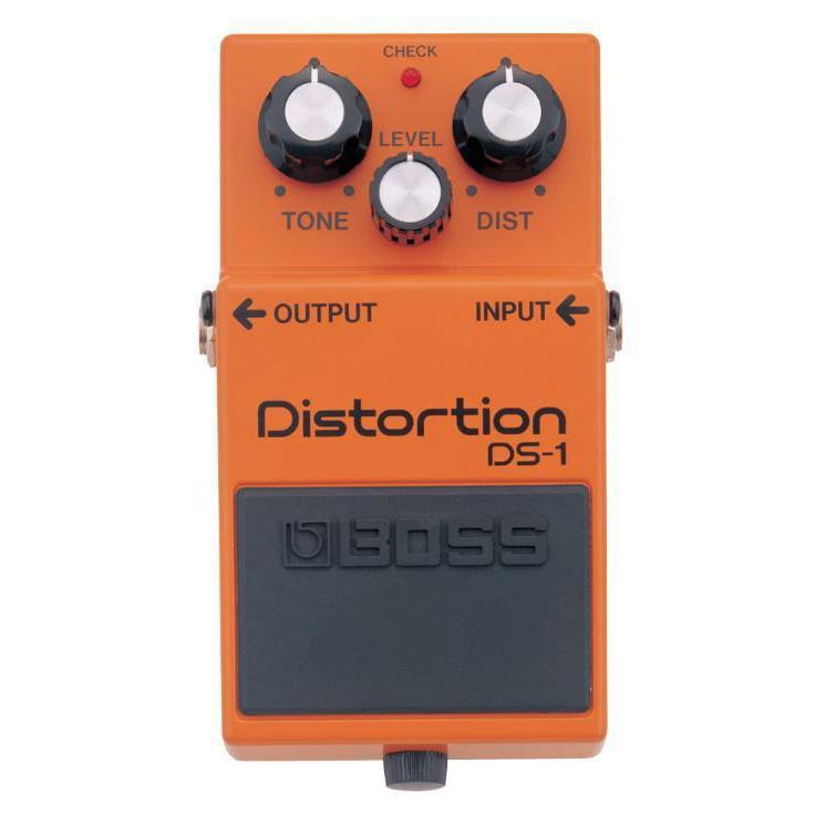 Boss DS-1 Distortion Pedal, Boss, Haworth Music