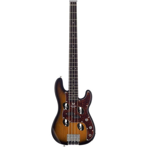 Traveler Guitar TB-4P Bass Guitar in Sunburst, Traveler Guitar, Haworth Music