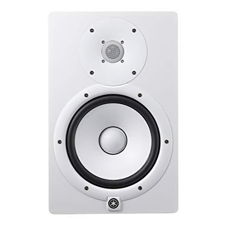HS7 WHITE ACTIVE MONITOR SPEAKER, Yamaha, Haworth Music