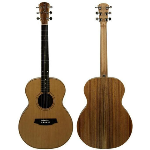 Cole Clark Angel 2 Cedar Blackwood with Hard Case