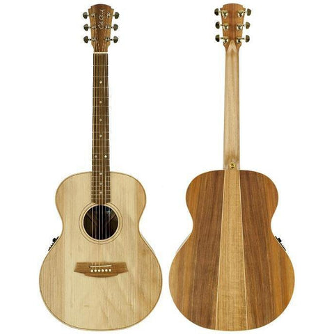 Cole Clark Angel 2E Bunya Blackwood with Hard Case, Cole Clark, Haworth Music