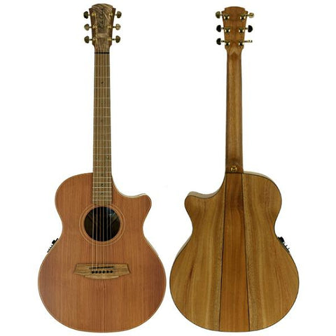 Cole Clark Angel 2EC Redwood Mahogany, Cole Clark, Haworth Music