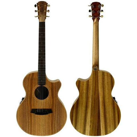 Cole Clark Angel 2EC Blackwood Blackwood Rosewood with Hard Case, Cole Clark, Haworth Music