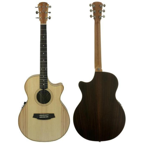 Cole Clark Angel 2EC Bunya Rosewood with Hard Case