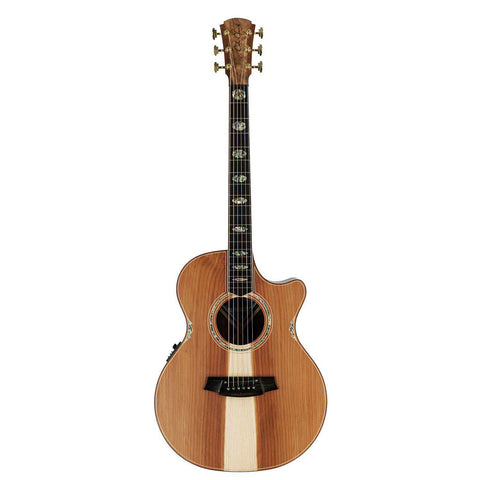 Cole Clark Angel 3 Redwood Blackwood Ebony (CCFL3EC-RDBL)