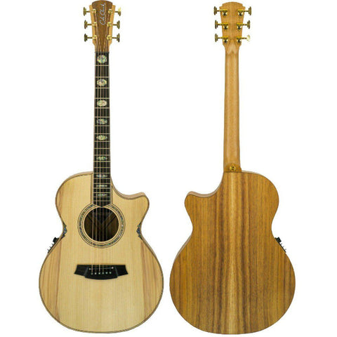 Cole Clark Angel 3EC Bunya Blackwood with Hard Case