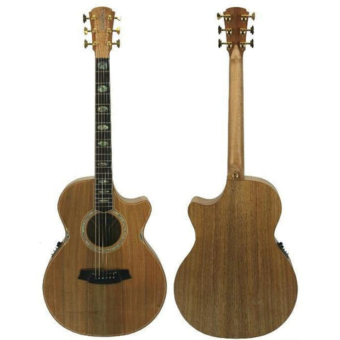 Cole Clark Angel 3EC Blackwood Blackwood with Hard Case
