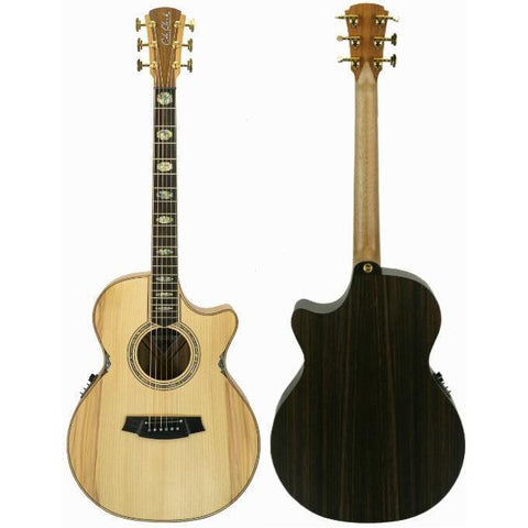 Cole Clark Angel 3EC Bunya Rosewood with Hard Case