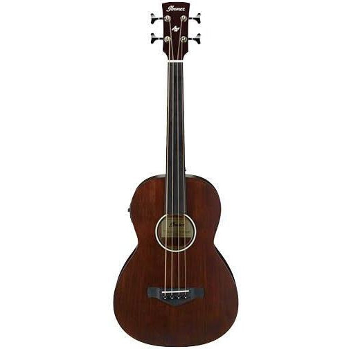 Ibanez AVNB1FE BV Fretless Acoustic Bass Guitar, Ibanez, Haworth Music
