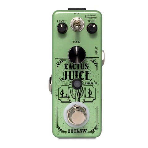 Outlaw Effects CACTUS JUICE 2-MODE OVERDRIVE, Outlaw Effects, Haworth Music