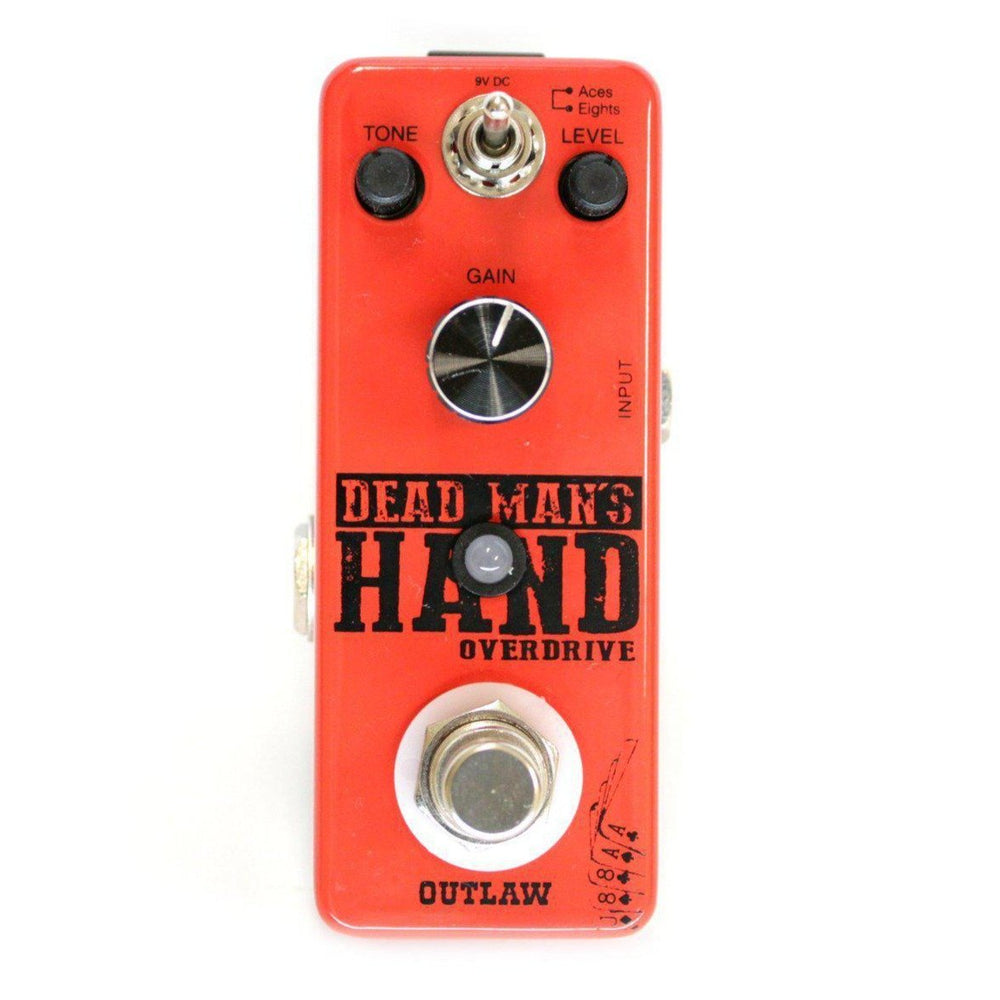 Outlaw Effects DEAD MAN'S HAND 2-MODE OVERDRIVE, Outlaw Effects, Haworth Music