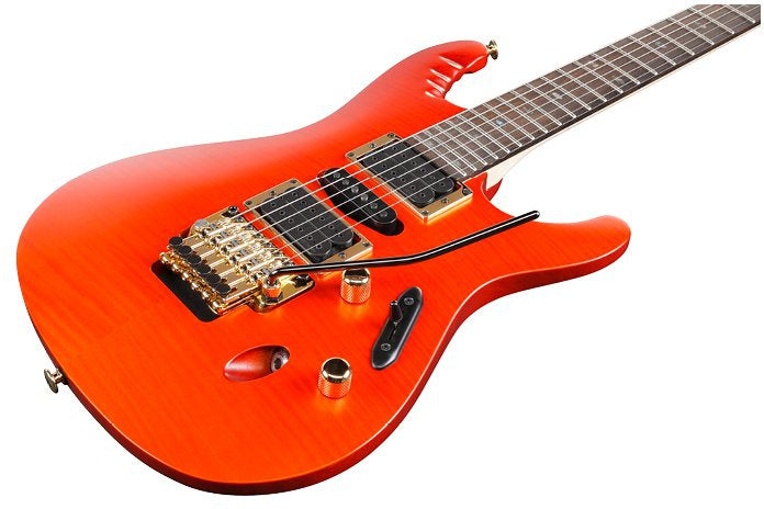 Ibanez EGEN18 DRG Herman Li Signature Guitar, Ibanez, Haworth Music