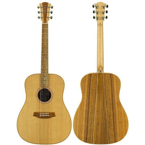 Cole Clark Fat Lady 2 Cedar Blackwood with Hard Case