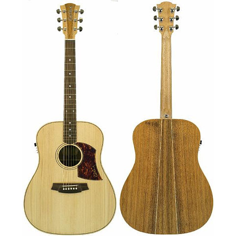 Cole Clark Fat Lady 2E Bunya Blackwood with Hard Case