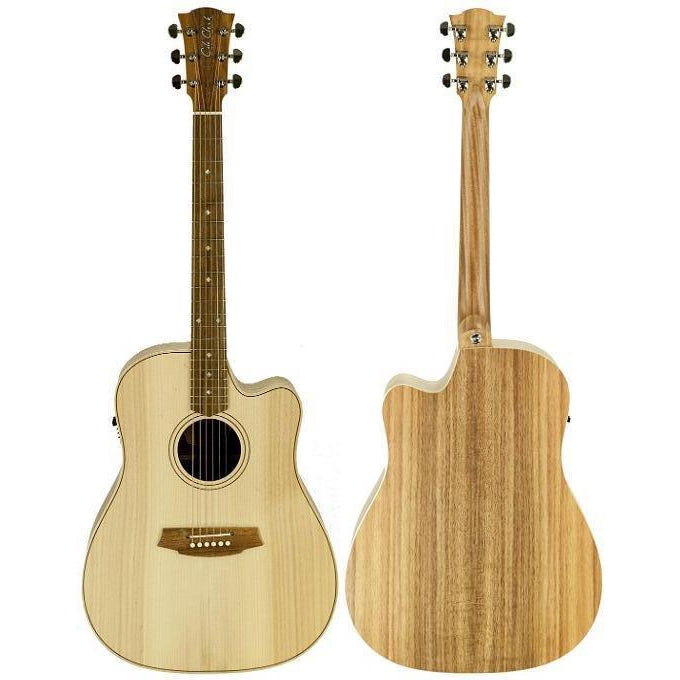 Cole Clark Fat Lady 2EC Bunya Blackwood with Hard Case, Cole Clark, haworth-music