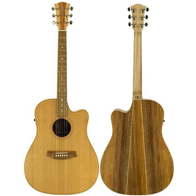 Cole Clark Fat Lady 2EC Cedar Blackwood with Hard Case, Cole Clark, haworth-music