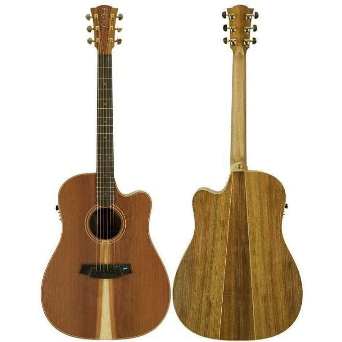 Cole Clark Fat Lady 2EC Redwood Blackwood Rosewood with Hard Case, Cole Clark, Haworth Music