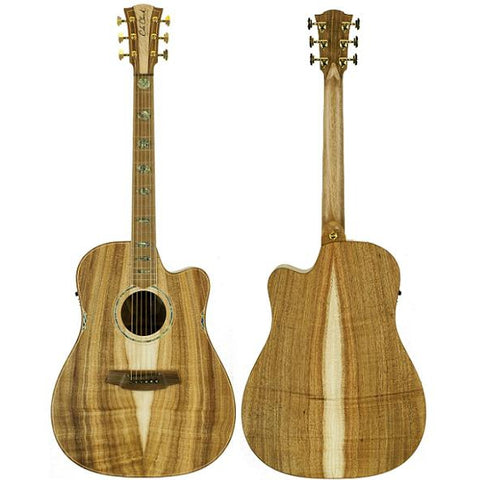 Cole Clark Fat Lady 3EC All Fully Sustainable Blackwood, Cole Clark, Haworth Music