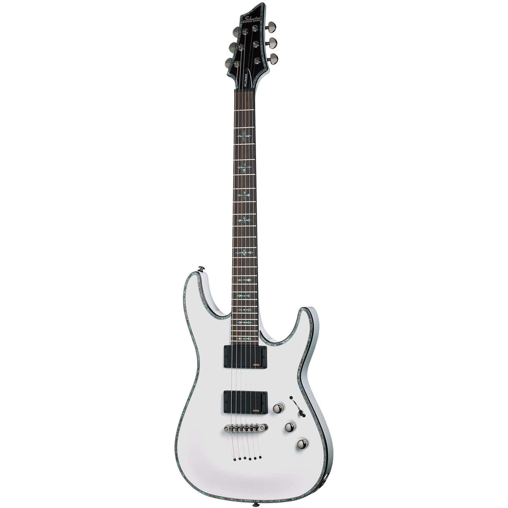 Schecter Hellraiser C-1 Electric Guitar in Gloss White, Schecter, Haworth Music