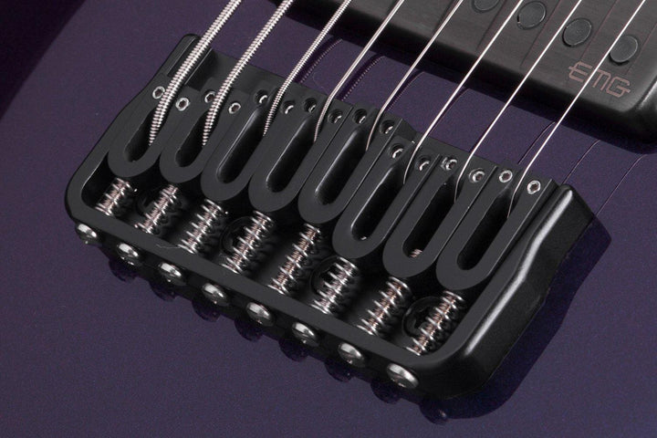 Schecter Hellraiser Hybrid C-8 eight-string Electric Guitar in Ultra Violet, Schecter, Haworth Music