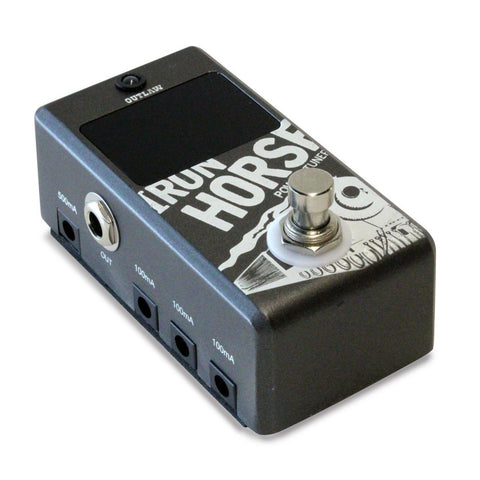 Outlaw Effects IRON HORSE POWER SUPPLY + TUNER, Outlaw Effects, Haworth Music