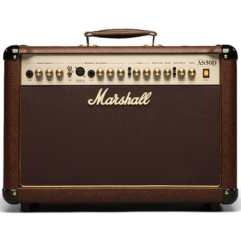 Marshall AS50D 50W Acoustic Combo, Marshall, Haworth Music
