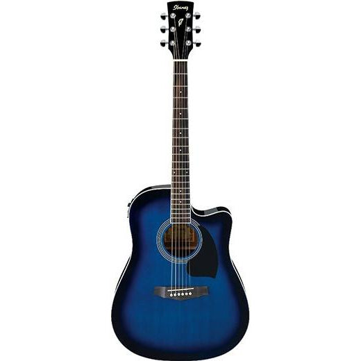 Ibanez PF15ECE TBS Acoustic Guitar, Ibanez, Haworth Music