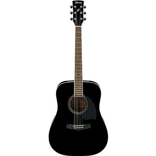 Ibanez PF15ECE BK Acoustic Guitar, IBANEZ, haworth-music