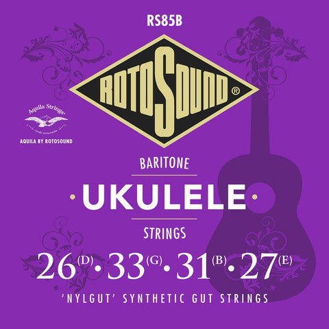 Rotosound RS85B Baritone Ukulele String Set, Rotosound, Haworth Music