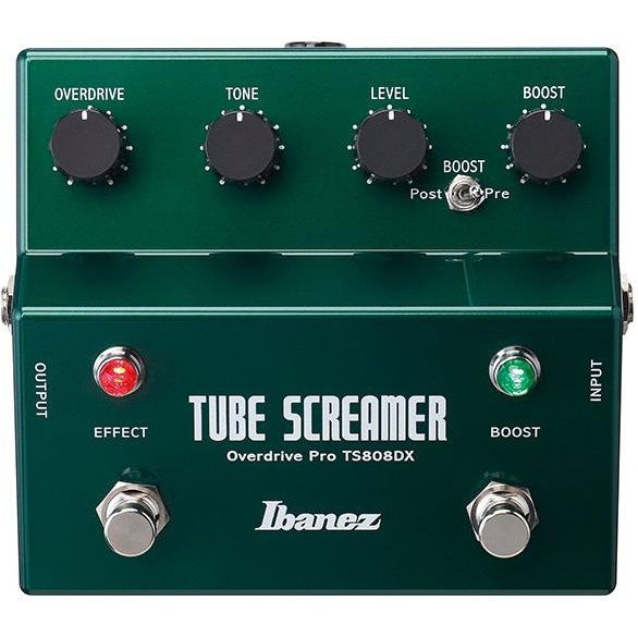 Ibanez TS808DX Tube Screamer Deluxe Pedal, IBANEZ, haworth-music