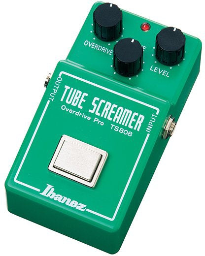 Ibanez TS808 Tube Screamer Pedal, Ibanez, Haworth Music