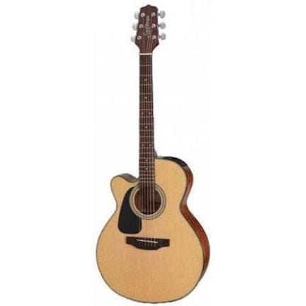Takamine ED2NC NAT LH Left Handed Acoustic Electric Guitar, Takamine, Haworth Music