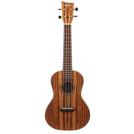 Ashton UKE500CBW Concert Ukulele Black Walnut, ASHTON, Haworth Music