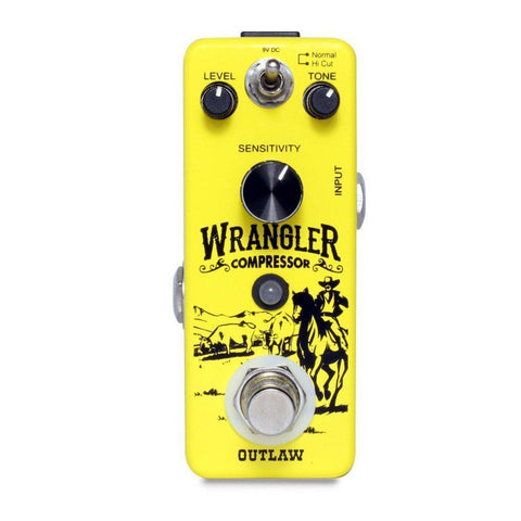 Outlaw Effects WRANGLER COMPRESSOR, Outlaw Effects, Haworth Music