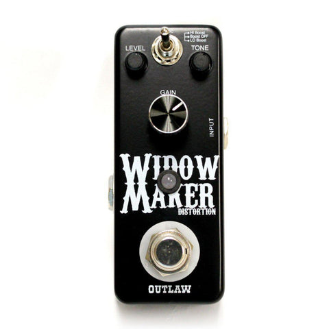 Outlaw WIDOW MAKER METAL DISTORTION, Outlaw Effects, Haworth Music