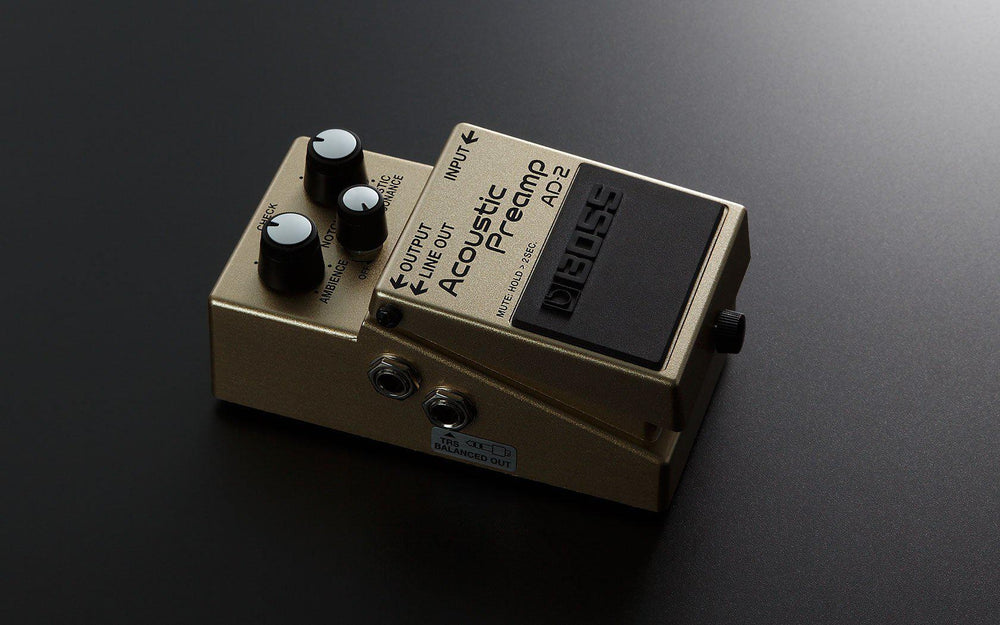 Boss AD-2 Acoustic Preamp Pedal, Boss, Haworth Music