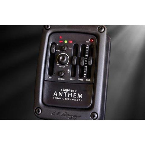 LR Baggs ANTHSTAGE Anthem Stagepro Acoustic Guitar Pickup and Microphone, Lr Baggs, Haworth Music