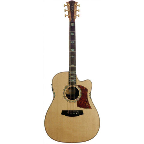 Cole Clark Fat Lady 3EC Spruce Rosewood with Hard Case