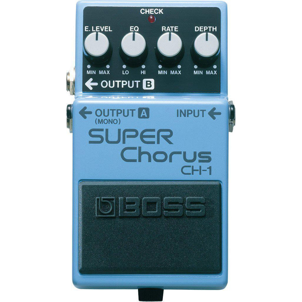 Boss CH-1 Super Chorus Pedal, Boss, Haworth Music