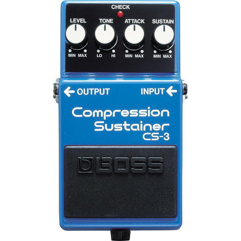 Boss CS-3 Compression Sustainer Pedal, Boss, Haworth Music