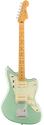 Fender American Professional II Jazzmaster Maple Fingerboard Mystic Surf Green Electric Guitar