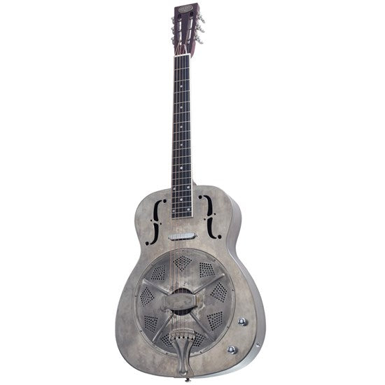 Bourbon Street Resonator Guitar 1C-A Style 0 Distressed Look
