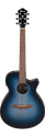 Ibanez AEG50 IBH Acoustic Guitar - in Indigo Blue Burst High Gloss, Haworth Guitars