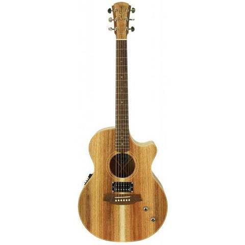 Cole Clark Angel 2 Blackwood Blackwood Acoustic Electric Guitar w/Humbucker, Cole Clark, Haworth Music