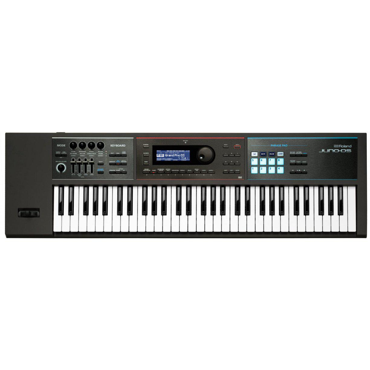 Roland JUNO-DS61 61-Note Synthesizer, Roland, Haworth Music