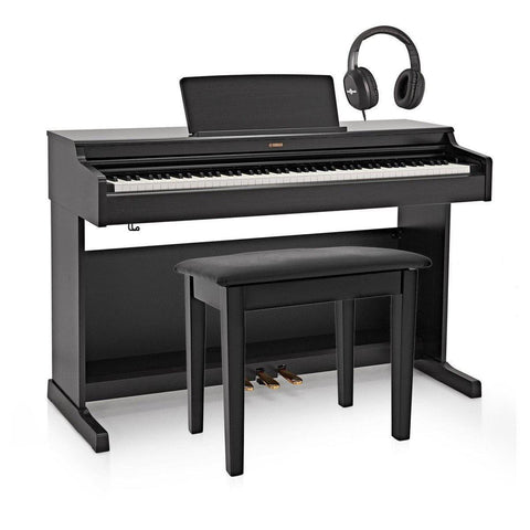 Yamaha Arius YDP164 Digital Piano W/Matching Bench - Black, Yamaha, Haworth Music